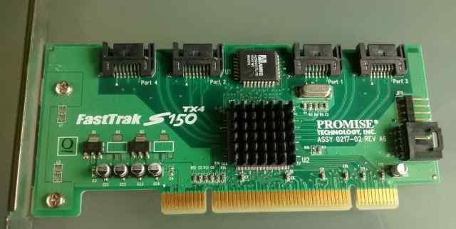 SATA-контроллер FastTrak S150 TX4 4-х портовый