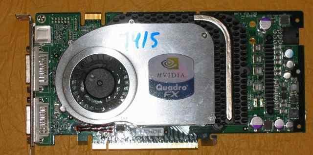 Видеокарта nvidia quadro FX 3400 25Мб PCI