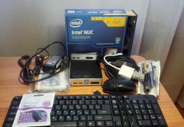 Intel NUC D34010WYK2 с набором комплектующих