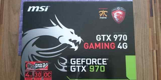 MSI Geforce GTX 970 в наличии много, только новые