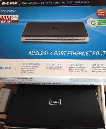 Adsl роутер Dlink DSL-2500U/BRU/D