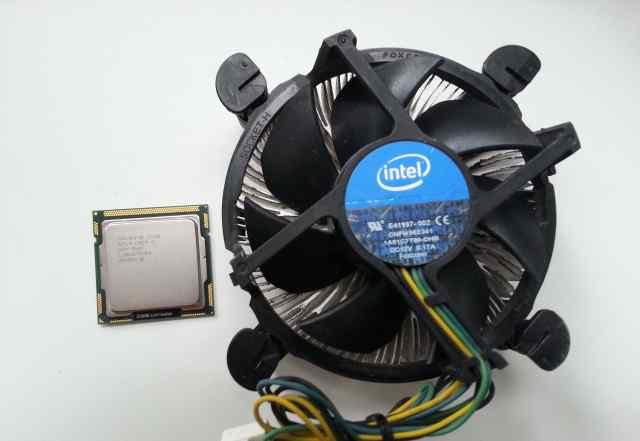 Процессор Intel Core i5-650 Socket LGA1156 + кулер