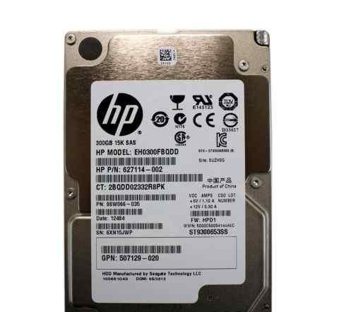 Жесткий диск Hewlett-Packard 300gb