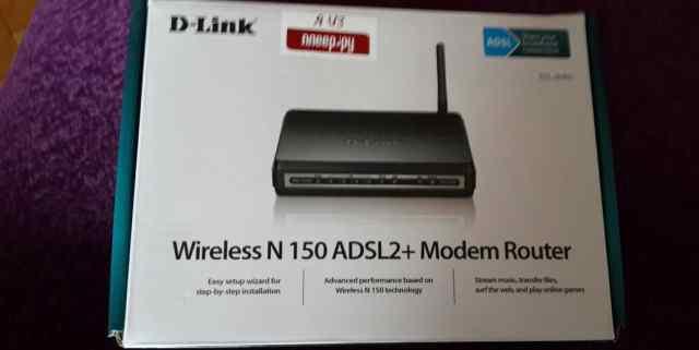 Беспроводной Машрутизатор D-Link DSL-2640U