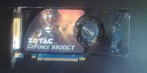 Zotac geforce 9800GT