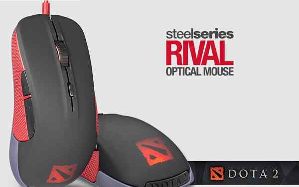 новую мышь SteelSeries Rival Dota 2