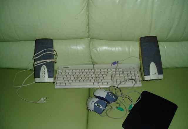 Клавиатура, мышь, колонки