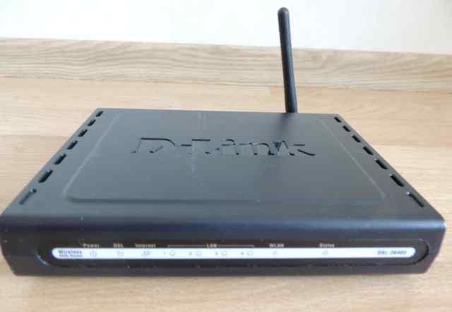 Роутер Маршрутизатор d-link 2640u wifi