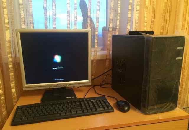 Офис пк - Компьютер + Монитор + клава мышь