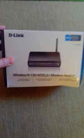 Роутер wireless D-link N150 adsl2 Modem router