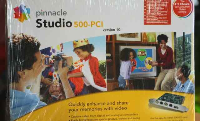 Pinnacle Studio 500-PCI