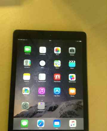 iPad Air 64GB Wi-Fi+ 4G Space Gray полный комплект