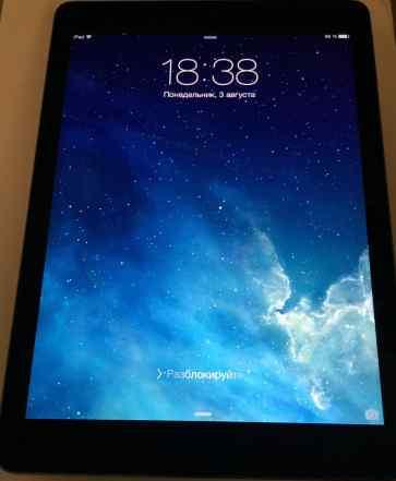 iPad air 16gb black