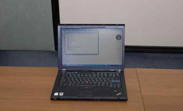 Ноутбук Lenovo T61 Nvidia Core2DuoT7300 1440 x 900