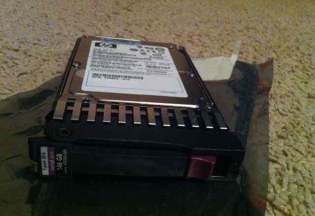 Жесткий диск HP 146-GB 10K RPM SAS