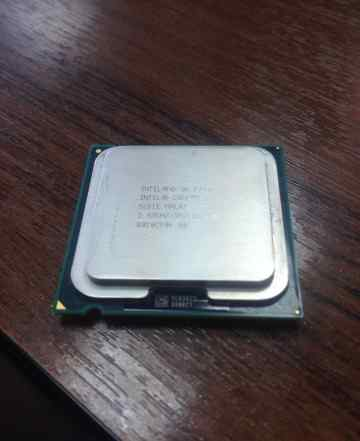 Двухядерный Intel Core2 Duo Processor E7500