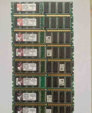 DDR 1 pc3200 - 14 планок по 256mb