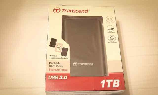 Transcend 25D3 1TB USB3.0