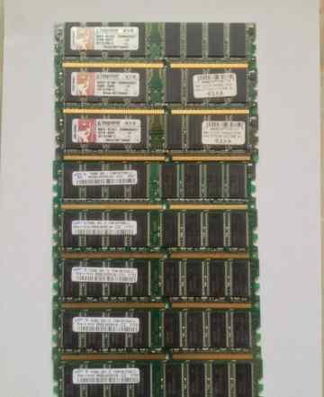 DDR 1 pc3200 - 10 планок по 512mb