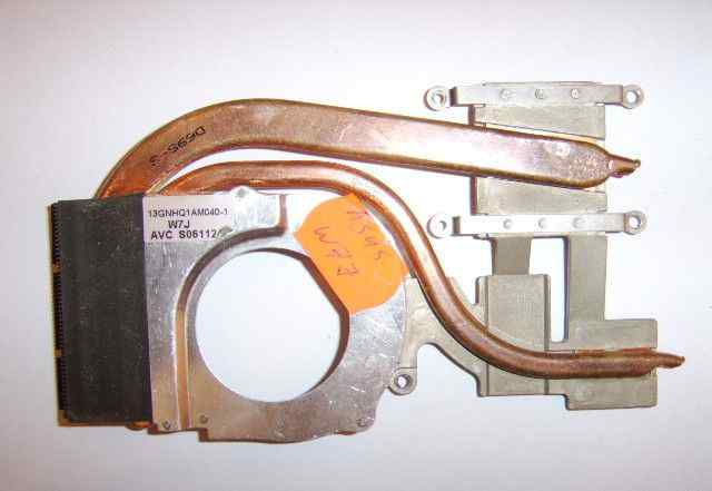 Кулер, вентилятор, радиатор для ноутбука Asus W7J