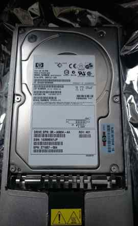 HDD HP 72.8GB 10K scsi BD07285A25 Новый