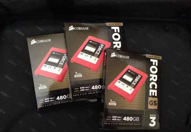 SSD corsair Force GS cssd-F480gbgs-BK