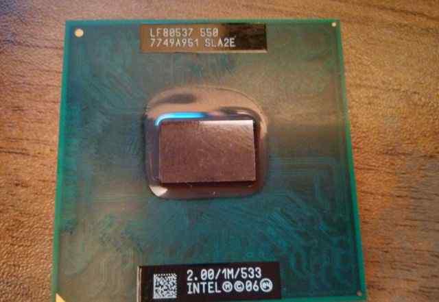 Процессор Intel Celeron Mobile 550