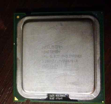 Pentium 4 (3.2 GHz - Socket 775 - SL8PR) Бесплатно