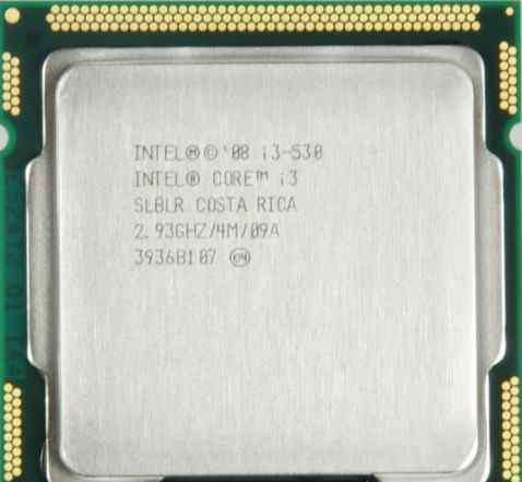 Процессор Intel Core i3-530 сокет LGA 1156