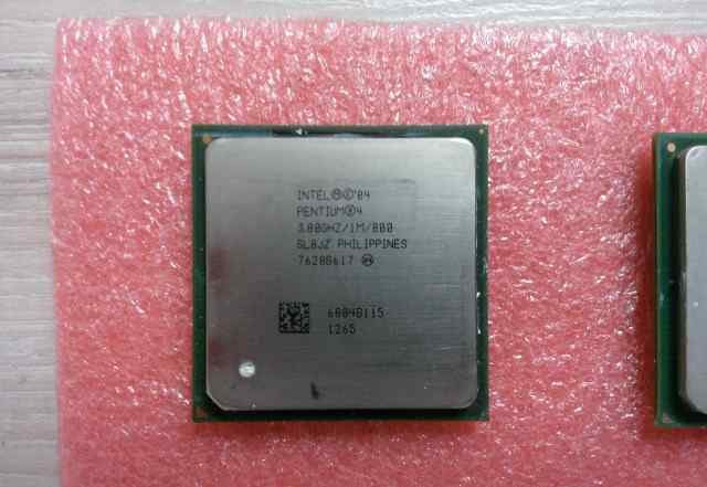 Intel pentium 4 3.0ghz и 3.2gh prescott Hyper S478
