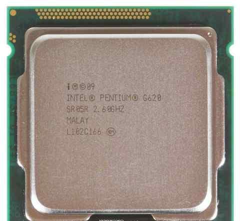 Процессор Pentium G620