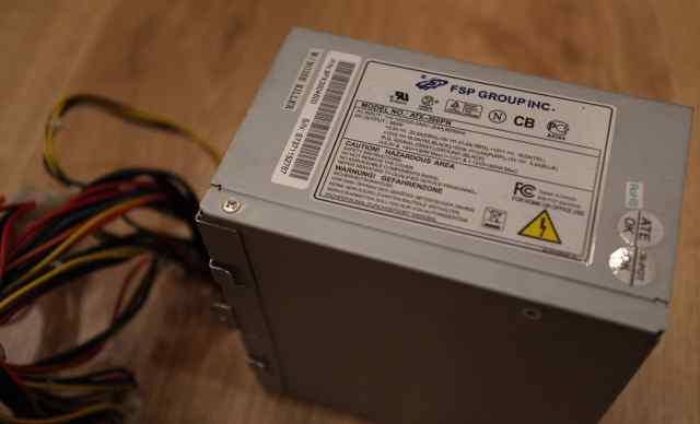 Блок питания FSP ATX-350PN б/у