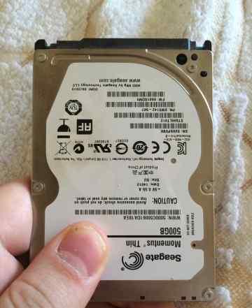 Жесткий диск на 500Гб Seagate