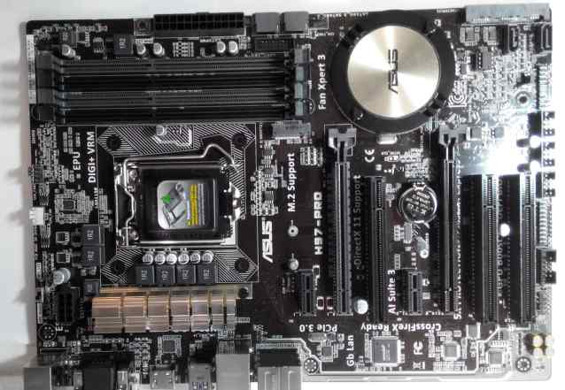 Asus H97-PRO материнская плата LGA1150