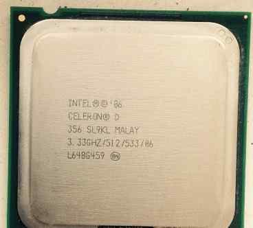 Celeron D 356 3.33 GHz LGA775