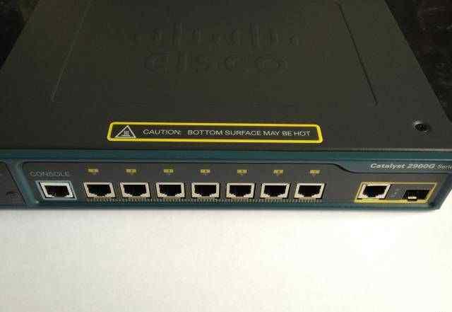 Cisco Catalyst 2960G новый