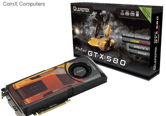 Leadtek Geforce GTX 580 3072mb gddr5