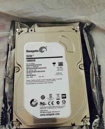 Жесткий диск 1Tb Seagate ST1000VX000 SATA-III SV35