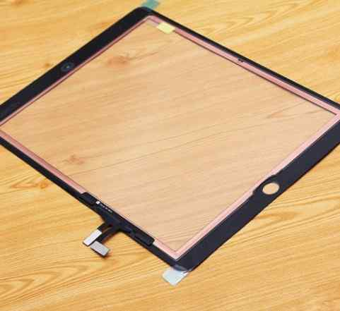 Экран, стекло на iPad Air, черный