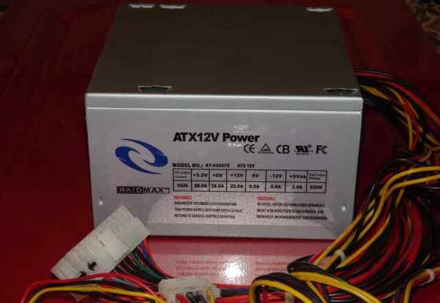 Блок питания 500W ATX-12V Power. Model KY-600ATX