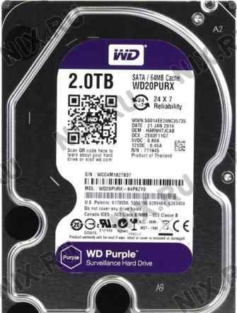 WD 2.0 Tb WD 20purx