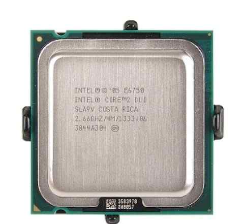CPU Core 2 Duo E6750 2.66 GHz/ 2core/ 4Mb/ 6