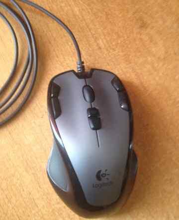 Мышь Logitech G300 и коврик Gigabyte