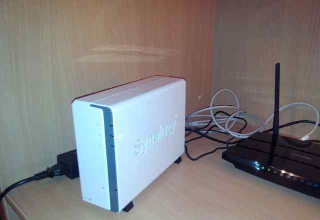 NAS Synology DS112j + HDD 3тб
