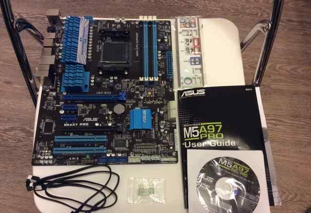 Материнская плата asus M5A97PRO сокет AM3+ AMD