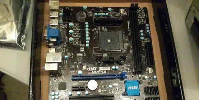 Msi a88xm e35 (fm2+)