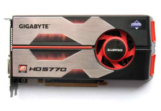 Видеокарта gigabyte Radeon HD 5770