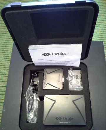 Oculus Rift DK1 + Игры и Ролики