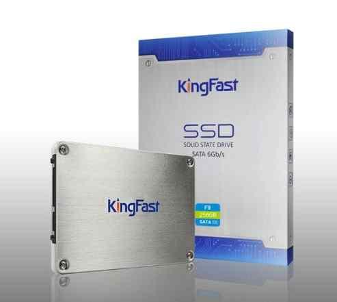 SSD Диск KingFast F9 256GB SATA III. Новый