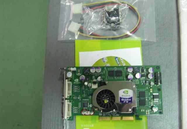 AGP Видеокарта PNY Quadro FX 1100